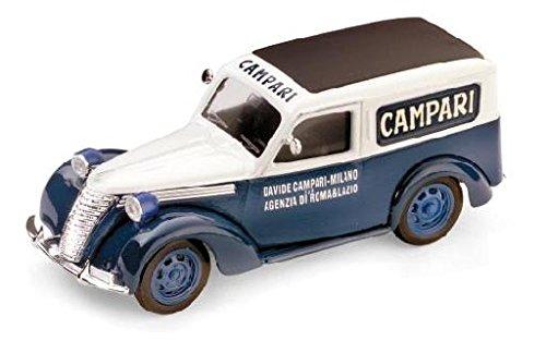 fiat-1100-e-furgone-campari-1952-143-brumm-veicoli-commerciali-modello-modellino-die-cast