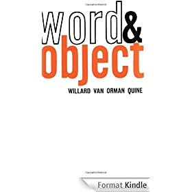 Word and Object (Studies in Communication) (English Edition)