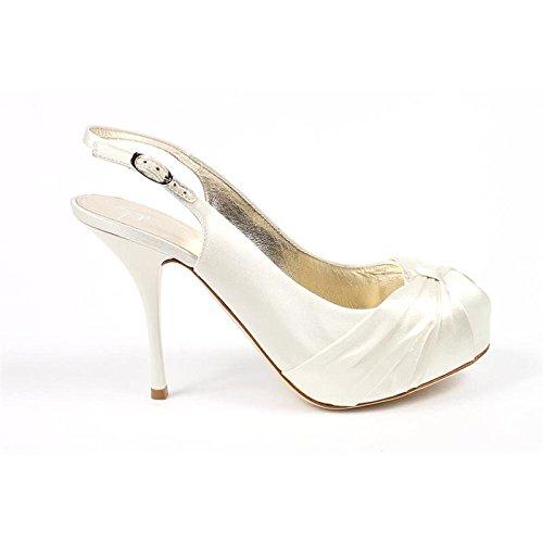 Decollete Donna Giuseppe Zanotti E20095 - Colore - Bianco, Taglia scarpa - 40