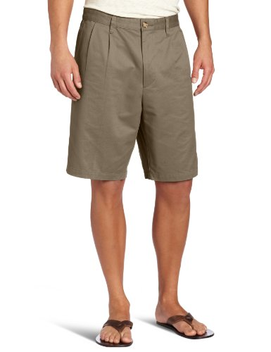 Dockers Men' D3 Pleated Soft Khaki Short