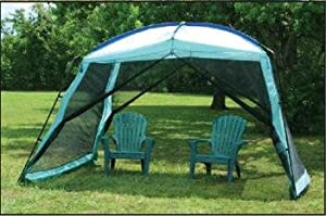 Texsport Wayford Screen Arbor Wasabi / Blue 12-feet X 9-feet X 82-inch