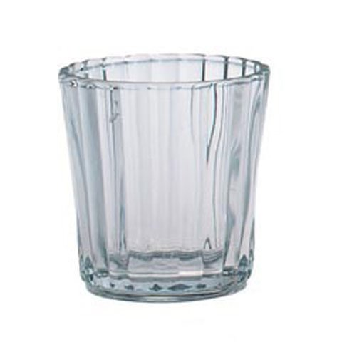 Фото Bulk Buy: Darice DIY Crafts Votive Candle Holder Clear Glass Scalloped Edge (24-Pack) 20128