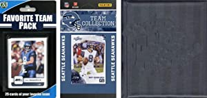 NFL Seattle Seahawks Licensed 2010 Score Team Set and Favorite Player Trading Card... by C&I Collectables