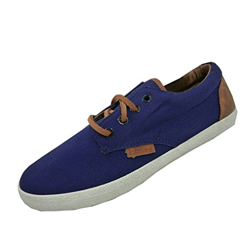 Djinns Nice Low-Pro Canvas Sneaker Navy, Blue, 45