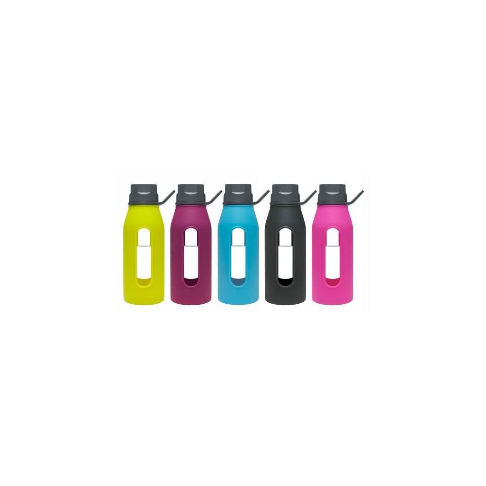 Takeya Classic Glass Water Bottle, 16 oz. Sports