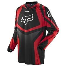 Fox Racing Mens 180 HC Race Motocross Jersey Red Medium M