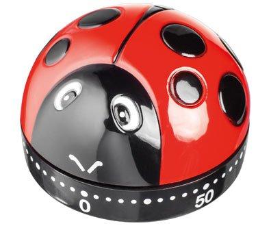 Judge Ladybird Ladybug Wind-up 60 Minutes Kitchen Timer TC301 (Kitchen Timer Bird compare prices)