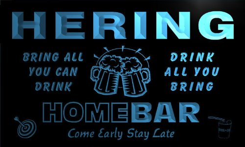 q19882-b-hering-family-name-home-bar-beer-mug-cheers-neon-light-sign