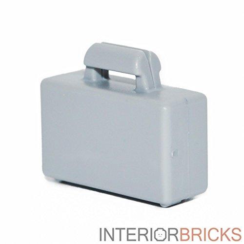 LEGO Minifigure Briefcase in Light Bluish Gray