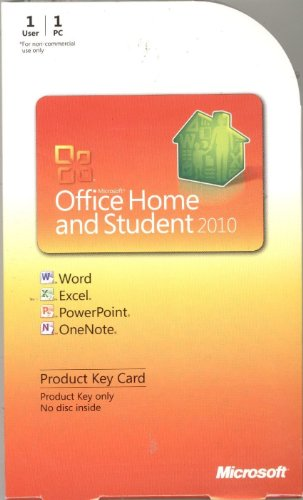 Buy Microsoft Office 2010 Home and Student Cheap