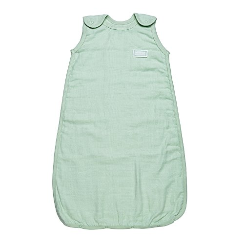 Under The Nile Unisex-Baby Infant Sleep Sac Muslin, Green, 0-6 Months