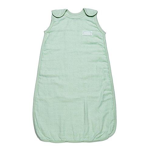 Under The Nile Unisex-Baby Infant Sleep Sac Muslin, Green, 0-6 Months