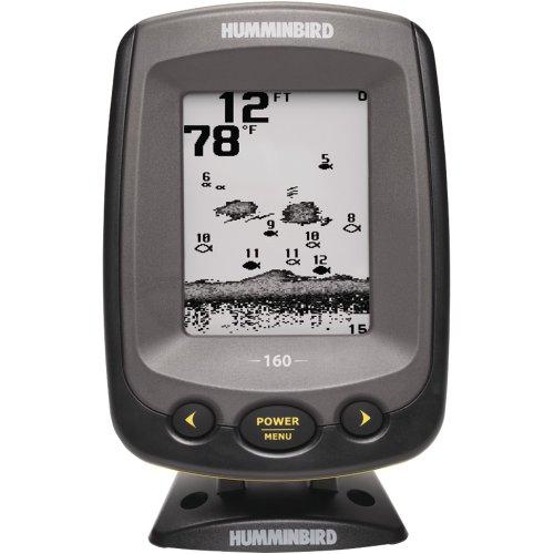 Humminbird PiranhaMAX 407230-1 160 4-Inch Waterproof Fishfinder and Dual-Beam Transducer