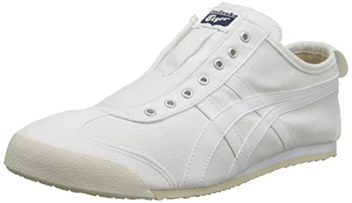 Onitsuka Tiger by Asics Unisex Mexico 66® Slip-On White/White Sneaker Men's 10, Women's 11.5 Medium