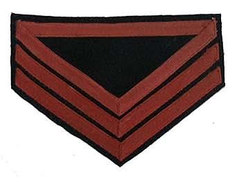 Civil War U.S. Rank Chevron - ARTILLERY - Sergeant - (PAIR)