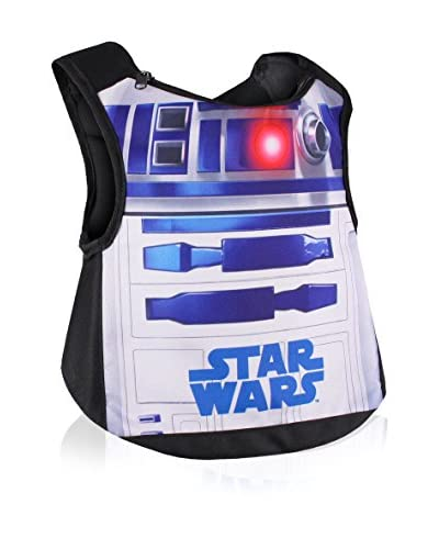 BACK TO SCHOOL Mochila R2D2 Negro / Azul