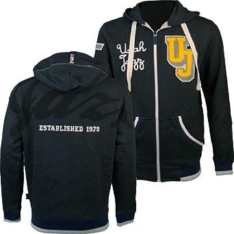 Utah Jazz NBA ODB Hooded Sweatshirt (Charcoal Gray) L by Unk Nba Apparel