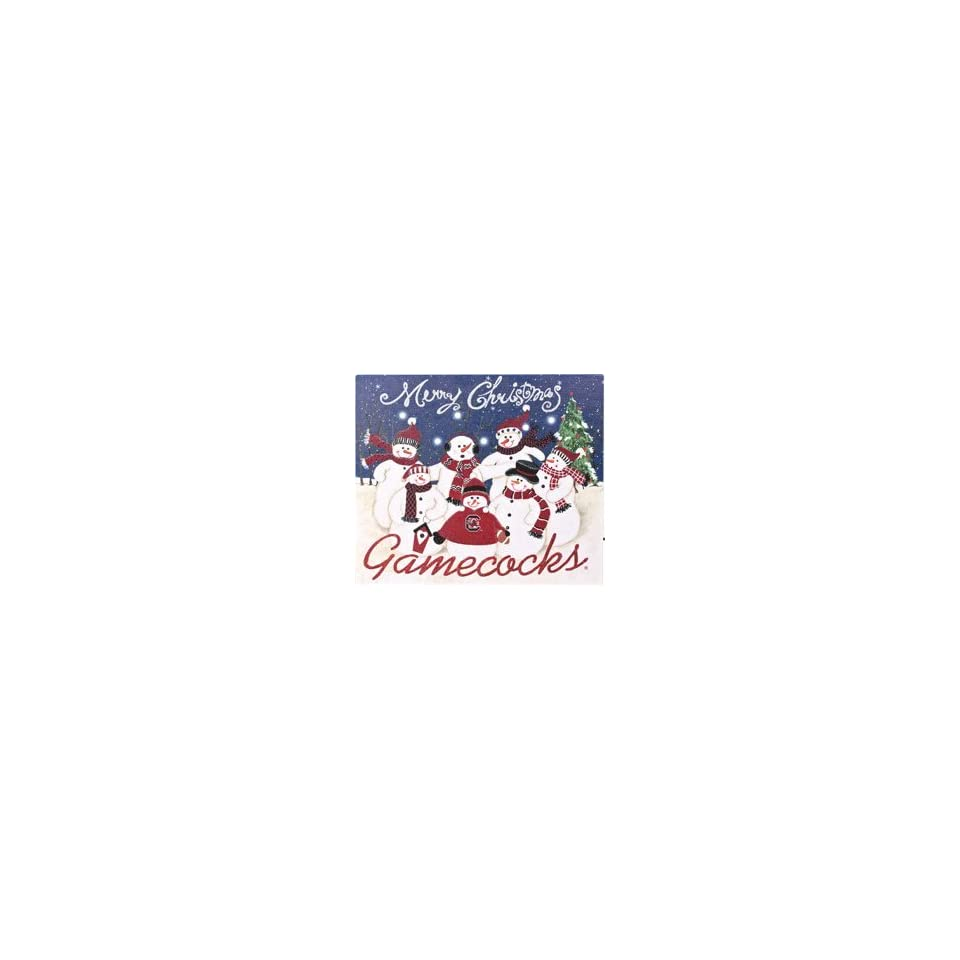 Hannas Handiworks University of South Carolina Gamecocks Holiday Lighted Sign