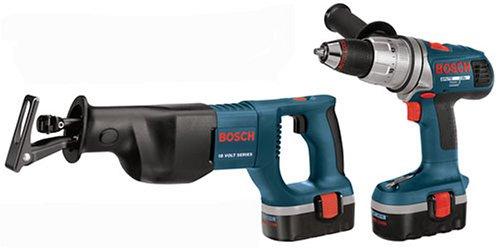Bosch CPK20-18 18-Volt Ni-Cad Cordless 2-Tool Combo Kit
