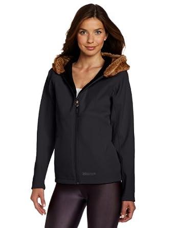 土拨鼠 Marmot Furlong Jacket 防水透气 毛领带帽保暖M2软壳 黑色款 $96.53