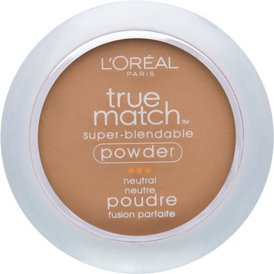 True Beige LOreal True Match Super-Blendable Powder precisely matches