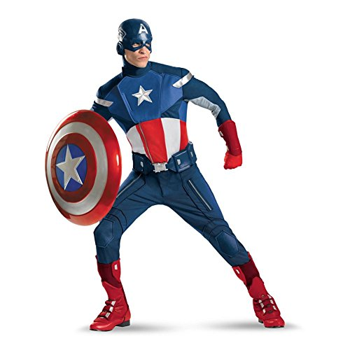 Captain America Avengers Theatrical Quality Costume