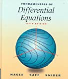 Fundamentals of Differential Equations (5th Edition)