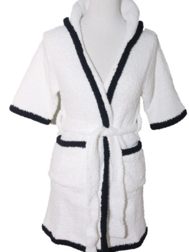 Kids So Soft Youth Micro Chenille Plush Hooded Robe