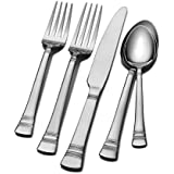 International Silver Kensington Stainless Steel Flatware, 53-Piece Set, Service for 8 (5092778)