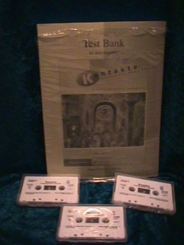 Test Bank to Accompany Kontakte: A Communicative Approach