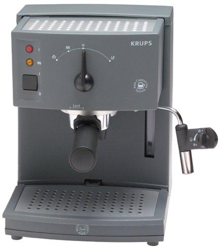 KRUPS 968-41 Novo 2300 Plus Automatic Cappuccino Machine, Grey