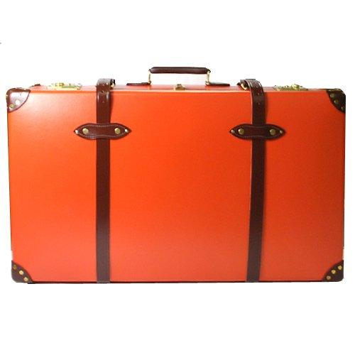 [グローブトロッター]GLOBE TROTTER GTCNTOT33ED CENTENARY センテナリー 33インチ SUITCASE スーツケース オレンジ×タン [並行輸入品]