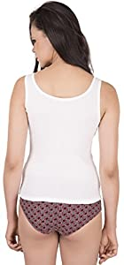 Eve's Beauty Women's White Tanktop