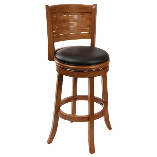 29 Inch Vintage Wood Bar Stool Dining Chair Counter Height: Counter Bar Stool Swivel Seat Kitchen Stools 29 Inch High