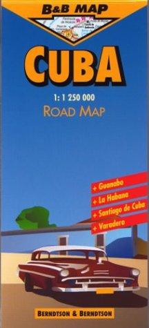 Berndtson & Berndtson Cuba Map (B&B maps)
