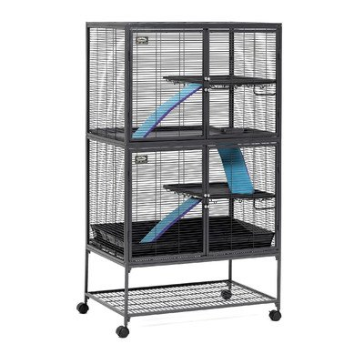 Critter Nation Small Animal Double Unit Cage front-18611