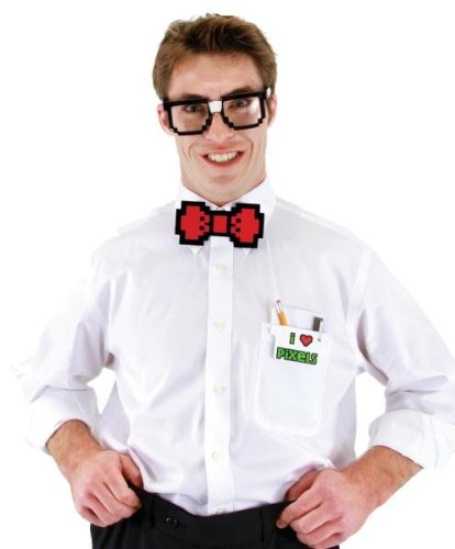 Costumes for all Occasions EL411401 Pixel-8 Nerd Kit