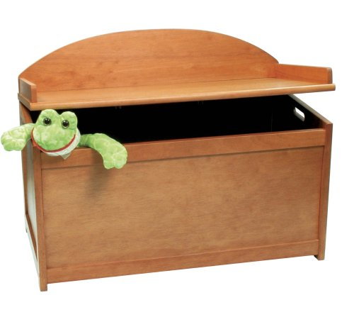Cheapest Prices! Lipper International 598P Toy Chest, Pecan