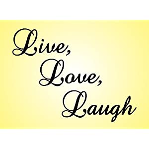 live love laugh wall art. Black Bedroom Furniture Sets. Home Design Ideas