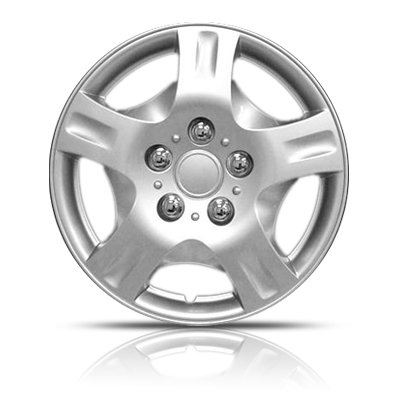 "15"" Hubcaps Premium Quality 5 Spoke Sport Design 4 Pack"