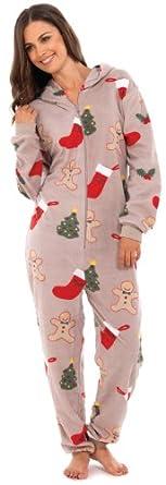 octave combinaison pyjama capuche inspiration no l femme beige m l. Black Bedroom Furniture Sets. Home Design Ideas