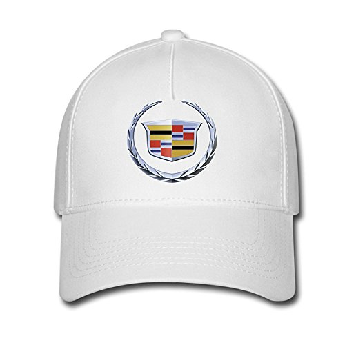 DEBBIE Unisex Cadillac Logo Baseball Caps Hat One Size (Cool License Plate Frame For Men compare prices)