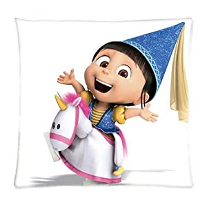 UK-Jewelry Cute Ainme Agnes Despicable Me Wallpaper Cartoon Cases Two Size Cases Pillowcases 18x18 Inch by UK-Jewelry
