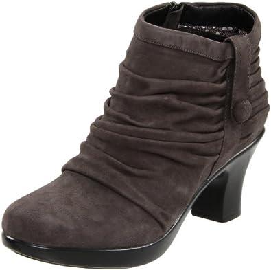 dansko s buffy ankle boot grey suede 36