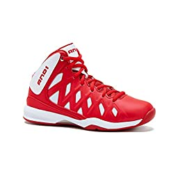 AND1 Boys\' UNBREAKABLE MID 4 White/Red/White