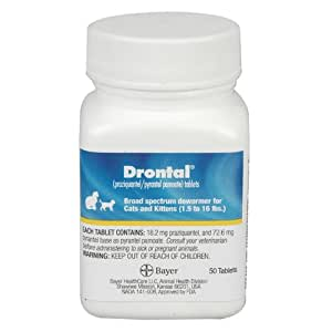 Drontal for Cats 50 Tablets