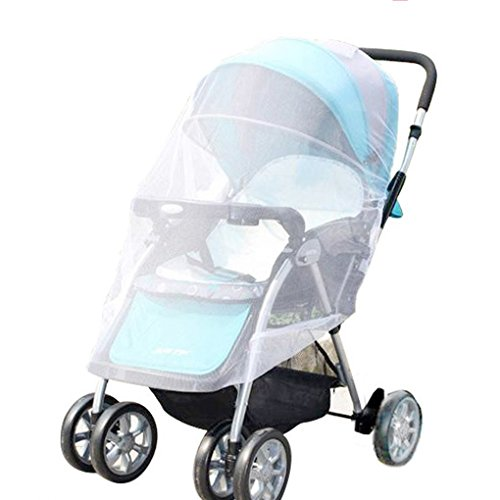 Mosquito-Net-V-FYee-Bug-Net-for-Baby-Strollers-Infant-Carriers-Car-Seats-Cradles-White