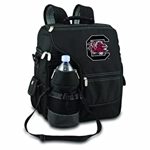 NCAA South Carolina Fighting Gamecocks Turismo Insulated Backpack Cooler by Picnic Time