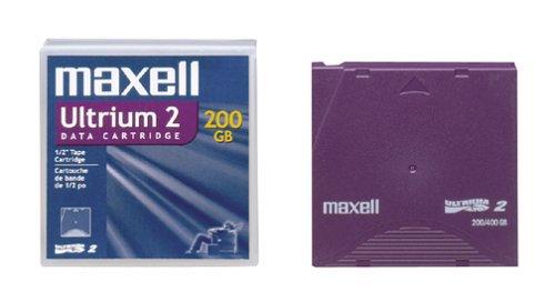 Maxell 183850 LTO Ultrium-2 200/400GB Tape Cartridge