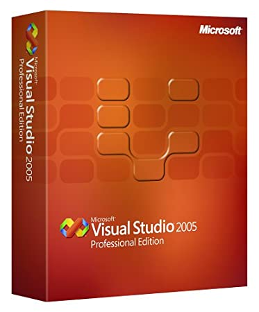 Microsoft Visual Studio Pro 2005 Upgrade CD/DVD